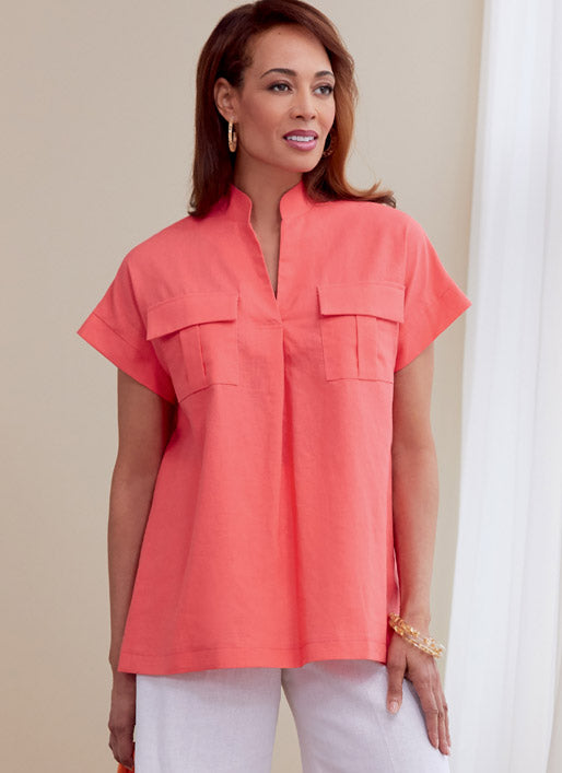 Symönster Butterick 6768 - Top Blus - Dam | Bild 1
