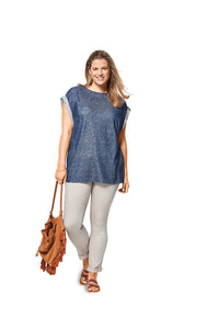 Symönster Burda 6445 - Top - Dam - Casual | Bild 1