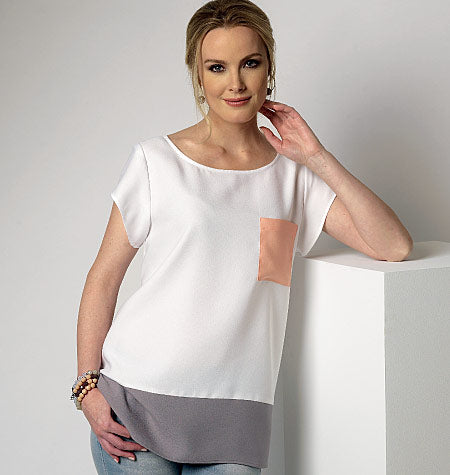 Symönster Butterick 6214 - Top - Dam | Bild 1