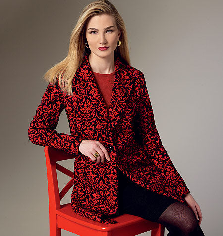 Symönster Vogue Patterns 9133 - Jacka - Dam | Bild 1