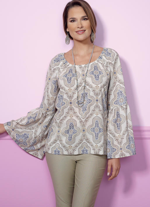 Symönster Butterick 6455 - Top - Dam | Bild 1