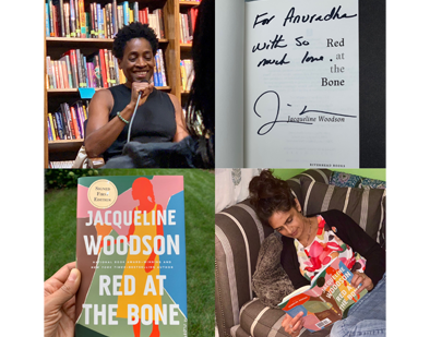 Connecting with Jacqueline Woodson, Author of RED AT THE BONE