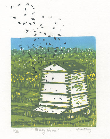 """Busy Hive"""