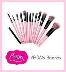Charm Essentials Vegan Makeup Brushes