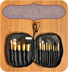 Charm Travel PRO Sonia Makeup Brush Set