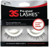 3S Pre-Glued False Eyelashes