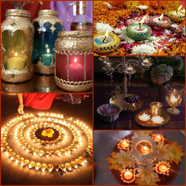 Ideas to decorate your home with diyas this diwali folkbridge Home decorations for diwali