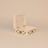 Marble Rectangle Green and White Knick Knack Box - FOLKBRIDGE.COM | Buy Gifts. Indian Handicrafts. Home Decorations.