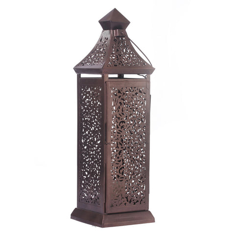 Copper Cutwork Lantern - FOLKBRIDGE.COM | Buy Gifts. Indian Handicrafts. Home Decorations.