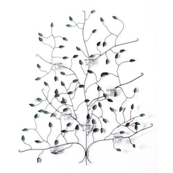 Wrought Iron Tree Candle Holder, Wall D̩cor - FOLKBRIDGE.COM | Buy Gifts. Indian Handicrafts. Home Decorations.