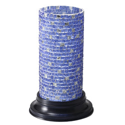Blue Hurricane Mosaic Candle Holder