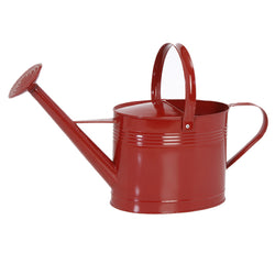 Red Metal Watering Can - FOLKBRIDGE.COM | Buy Gifts. Indian Handicrafts. Home Decorations.