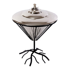 Branch Design Iron Spirit Lamp - FOLKBRIDGE.COM | Buy Gifts. Indian Handicrafts. Home Decorations.