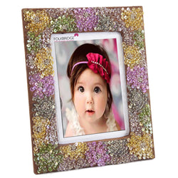 Decorative Photoframe with Sequin Flowers - FOLKBRIDGE.COM | Buy Gifts. Indian Handicrafts. Home Decorations.