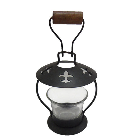 Fish Cutwork Votive Candle Lantern Black - FOLKBRIDGE.COM | Buy Gifts. Indian Handicrafts. Home Decorations.
