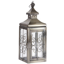 Antique Copper Designer Lantern - FOLKBRIDGE.COM | Buy Gifts. Indian Handicrafts. Home Decorations.