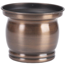 Antique Copper Finish Planter - FOLKBRIDGE.COM | Buy Gifts. Indian Handicrafts. Home Decorations.