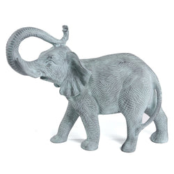 Blackish Blue Elephant Figurine - FOLKBRIDGE.COM | Buy Gifts. Indian Handicrafts. Home Decorations.