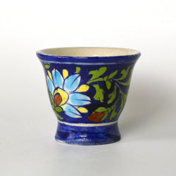 Ceramic Blue Egg Holder - FOLKBRIDGE.COM | Buy Gifts. Indian Handicrafts. Home Decorations.