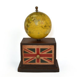 Globe with Table Top Drawer - FOLKBRIDGE.COM | Buy Gifts. Indian Handicrafts. Home Decorations.
