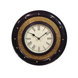 Ethnic Wooden Wall Clock - FOLKBRIDGE.COM | Buy Gifts. Indian Handicrafts. Home Decorations.