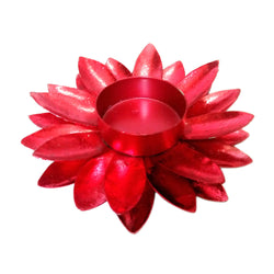 Daisy Tea Light Holder - FOLKBRIDGE.COM | Buy Gifts. Indian Handicrafts. Home Decorations.