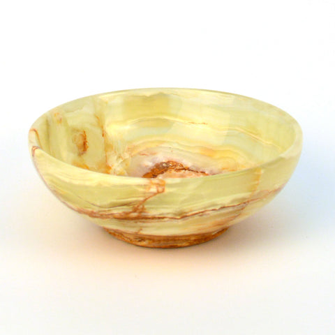 Green Onyx Round Bowl - FOLKBRIDGE.COM | Buy Gifts. Indian Handicrafts. Home Decorations.