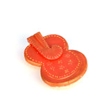 Marble Ganesh Orange Chopda or Tika Box - FOLKBRIDGE.COM | Buy Gifts. Indian Handicrafts. Home Decorations.
