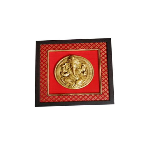 Brass Ganesh Wall Hanging  - FOLKBRIDGE.COM | Buy Gifts. Indian Handicrafts. Home Decorations.