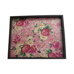 Floral Printed Wooden Serving Tray - FOLKBRIDGE.COM | Buy Gifts. Indian Handicrafts. Home Decorations.