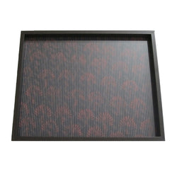 Brown Brocade Wooden Serving Tray - FOLKBRIDGE.COM | Buy Gifts. Indian Handicrafts. Home Decorations.