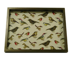 FBK3KTP168 - Birds Designed Serving Ekat Tray