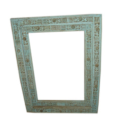 Wooden Distressed Photo Frame, Large - FOLKBRIDGE.COM | Buy Gifts. Indian Handicrafts. Home Decorations.