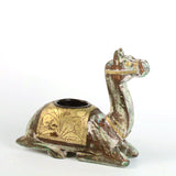 Wooden Green Camel Tea Light Holder - FOLKBRIDGE.COM | Buy Gifts. Indian Handicrafts. Home Decorations.