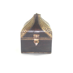 Wooden Conical Jewellery Box - FOLKBRIDGE.COM | Buy Gifts. Indian Handicrafts. Home Decorations.