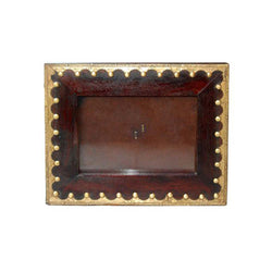 Rectangle Wooden Brown Photo Frame