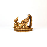 Ganesh on Sheshnaag Idol in Brass - FOLKBRIDGE.COM | Buy Gifts. Indian Handicrafts. Home Decorations.