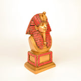 Stone Studded Red Brass Egyptian King Figurine - FOLKBRIDGE.COM | Buy Gifts. Indian Handicrafts. Home Decorations.