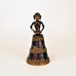 Brass Brown Lady Bell - FOLKBRIDGE.COM | Buy Gifts. Indian Handicrafts. Home Decorations.