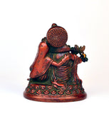 Multicolored Brass Radha Krishna Idol - FOLKBRIDGE.COM | Buy Gifts. Indian Handicrafts. Home Decorations.