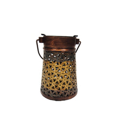 Iron Filigree Lantern Tea Light Candle Holder, Small - FOLKBRIDGE.COM | Buy Gifts. Indian Handicrafts. Home Decorations.