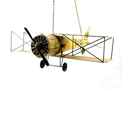 Iron Aeroplane Decor Accent - FOLKBRIDGE.COM | Buy Gifts. Indian Handicrafts. Home Decorations.