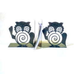 Owl Book Ends Or Bookends Or Book Stoppers - FOLKBRIDGE.COM | Buy Gifts. Indian Handicrafts. Home Decorations.