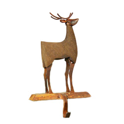Iron Decorative Deer Wall Mount Hook - FOLKBRIDGE.COM | Buy Gifts. Indian Handicrafts. Home Decorations.