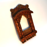 Wooden Brown Jharokha - FOLKBRIDGE.COM | Buy Gifts. Indian Handicrafts. Home Decorations.