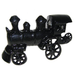 Black Engine Metal Sculpture