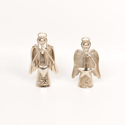 Silver Angel Bells or Chimes, Small,  Set of Two - FOLKBRIDGE.COM | Buy Gifts. Indian Handicrafts. Home Decorations.