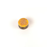 Hand Painted Small Round Box, Yellow - FOLKBRIDGE.COM | Buy Gifts. Indian Handicrafts. Home Decorations.