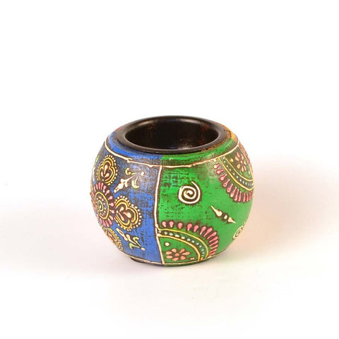 Wooden Ball Lite - FOLKBRIDGE.COM | Buy Gifts. Indian Handicrafts. Home Decorations.