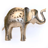 Iron Small,Elephant Tea Light Holder - FOLKBRIDGE.COM | Buy Gifts. Indian Handicrafts. Home Decorations.